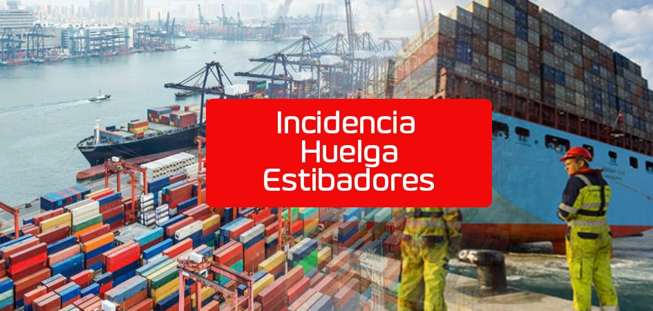 Incidencia Huelga Estibadores
