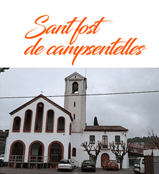 rutas Sant fost de campsentelles